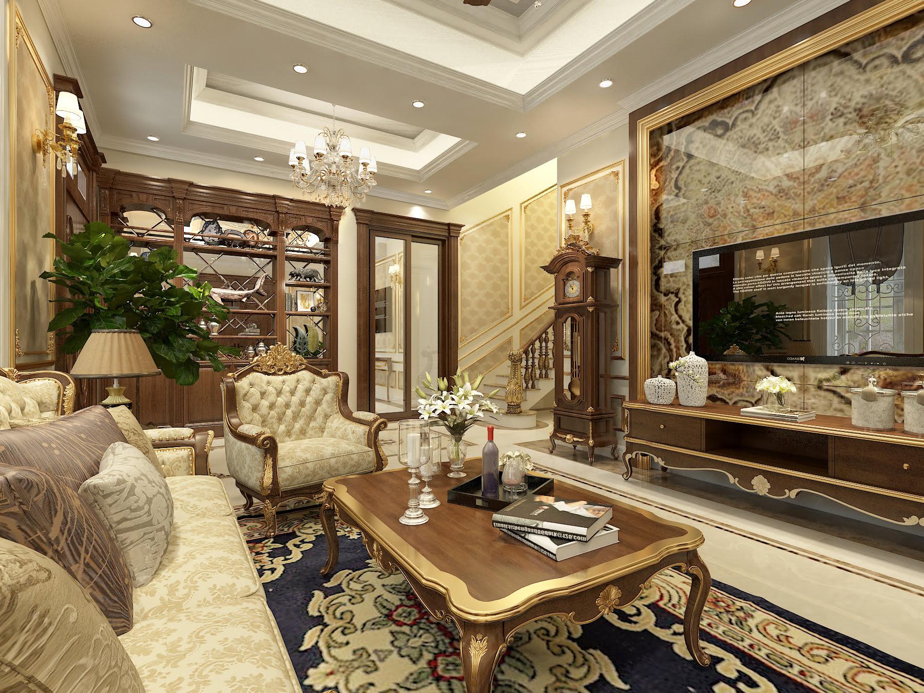 Thiết kế nội thất Tân cổ điển – Ông Nam – Hải Phòng