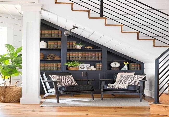 trang trí gầm cầu thang