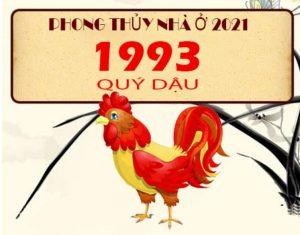 Năm 1993 Quý Dậu Và Phong Thủy Nhà Ở