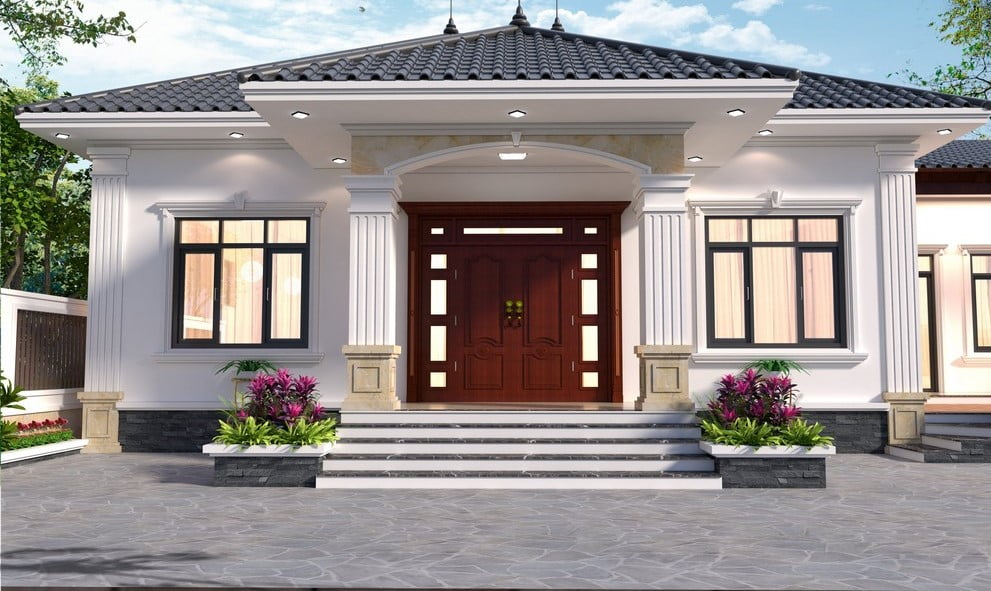 Tổng Hợp Mẫu Nhà Cấp 4 Mái Nhật Đẹp